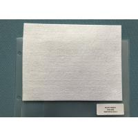 Wholesale 250 Gsm Snow White Needle Punched Felt Fabric Squares For Mats , 5mm Thickness from china suppliers
