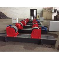 Wholesale Bolt Adjustment Heavy Duty Roller Stand , Hand Control Box Conventional Welding Rotator from china suppliers