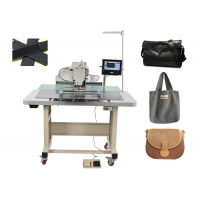 Buy cheap 350mm*200mm Industrial Computerized Pattern Sewing Machine from wholesalers