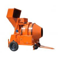 Buy cheap Diesel Engine Powered Concrete Mixer Machine , Reverse Drum Mobile Concrete from wholesalers