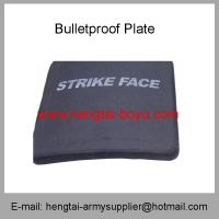 Buy cheap Wholesale Cheap China Army Black Color Alumina Ceramic Police Bulletproof Plate from wholesalers
