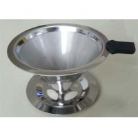 Wholesale White Ultra Fine Stainless Steel Filter Easy Clean With High Eccentricity Rate from china suppliers