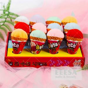 Wholesale Microfiber Mini Ice Cream Design Favors Wedding Children Gift Towel from china suppliers