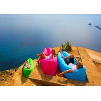 Wholesale Bench Longe Lazy Bag Inflatable Sleeping Bag Camping Hangout Air Sofa For Travel Hiking from china suppliers
