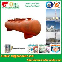 Buy cheap Water proof coal fired boiler mud drum ORL Power from wholesalers