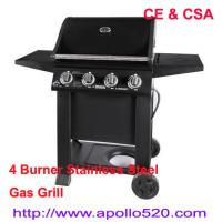 Wholesale Gas Barbeque Grills 4 burners from china suppliers