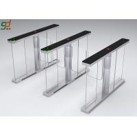 Wholesale Standard Interface Supermarket Swing Barrier Gate Automatic Turnstiles System from china suppliers