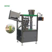 Quality Adjustable Speed Tube Filling Sealing Machine Vertical Cosmetics Cream 850kg for sale