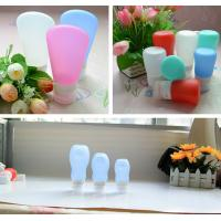 Wholesale leak proof squeezable, BPA free, Food Grade Protable Silicone Travel Bottle from Hebei Shengxiang from china suppliers