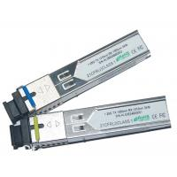 Wholesale 10 / 7Gbps Bidirectional Data Links BIDI SFP+ Transceiver Compliant With SFP+ MSA Duplex LC Connector from china suppliers