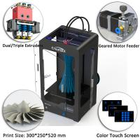 Wholesale Dx Plus Creatbot 3D Printer 300x250x520 Mm Forming Size With High Precision from china suppliers