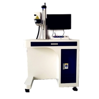China 10.64um AoShuo 0.01mm Industrial Laser Marking Equipment on sale