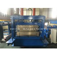China Big Cold C Profile Purlin Roll Forming Machine Chain Driven Hydraulic Cutting Type on sale