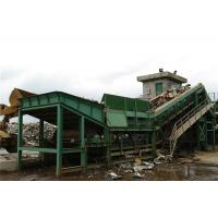 China Waste Iron Or Steel Shredder Machine Processed Into Lumps Or Granules on sale