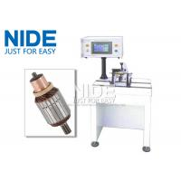 Wholesale PLC Controlled Armature Balancing Machine , Automatic Motor Rotor Testing Equipment from china suppliers