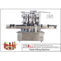 Wholesale Volumetric Paste Filling Machine , Butter / Cheese / Tomato Sauce Filling Machine from china suppliers