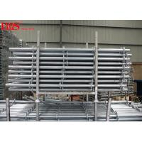 Wholesale Multipurpose Layher Scaffolding System Ringlock Standards Horizontal Bay Brace from china suppliers