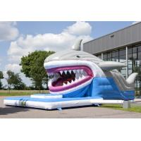 Wholesale EN14960 Snappy Shark Jumping Castle Inflate Combo Commercial Grade from china suppliers