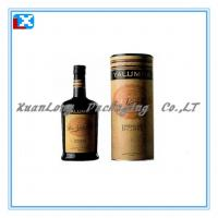 Wholesale wine packaging paper tube from china suppliers