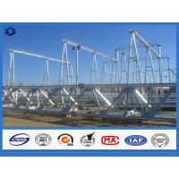 Wholesale Hot Dip Galvanized Electricity Transmission Substation Structure Steel Pole from china suppliers