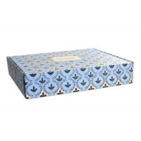 Wholesale High - End Flower Printing Lingerie Packaging Box With Ribbon Close from china suppliers