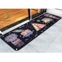 Wholesale Memory Form Indoor Area Rugs / Bedroom Floor Mats with Anti-slip PVC Coated Dots from china suppliers