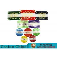 Wholesale 760Pcs Alluminum Case Casino Poker Chip Set And With Bronzing from china suppliers