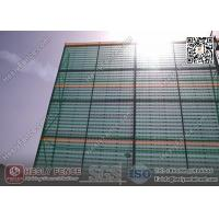 Wholesale 10M High X 4.5m Width Steel Wind Breaker Barrier Wall (China Wind Fence Factory) from china suppliers