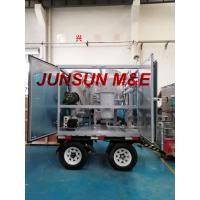 Buy cheap Super Quality Trailer Mounted Mobile Type Dielectric Oil Dehydration and Filtration System from wholesalers