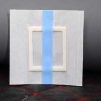 Wholesale Medical waterproof transparent wound dressing adhesive pad silicone wound dressing border from china suppliers