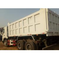 China A7 Sinotruk Howo White Heavy Duty Dump Truck Ten Wheels 6 X 4 18M3 40 T for sale