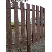 China Natural Wooden WPC Decking / 100 % recyclable WPC Rail Fence For Farm on sale
