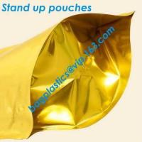 Wholesale metalized bags, bopp metalized bags, metalized pouches, VEMPET, PP, BOPP, OPP, CPP, NYLON from china suppliers