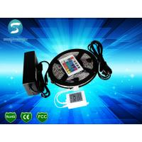 Flexible 12 Volt LED Strip Light Waterproof RGB LED Tape Lights With 2 Year Warranty for sale