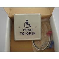 """Wholesale 4.5"""" Round Push To Exit Switch / Handicap Accessible Door Openers With Disabled Logo from china suppliers"""