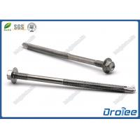 China Stainless Hex Washer Head Double Thread Self-drilling Screw for Steel Structure on sale