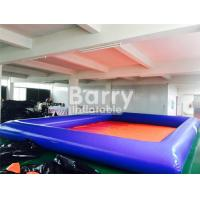 Quality Summer Water Game Large Inflatable Backyard Swimming Pools With Customized Toys for sale