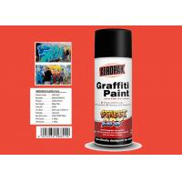 Engineering Orange Color High Gloss Spray Paint For Advertising Industry for sale