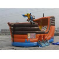 Wholesale Custom Waterproof Kids Inflatable Pirate Ship Bounce House For Rental from china suppliers