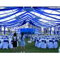 Wholesale Luxury Frame Beautiful Marquee Canopy Tent With UV Resistant PVC Fabric Cover from china suppliers