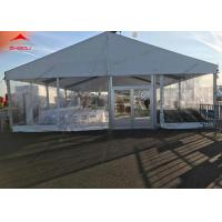 Wholesale 200 Person Wedding Party Tent With Lining Curtain Aluminum Structure from china suppliers