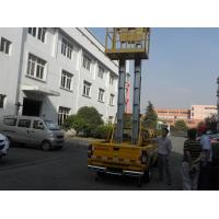 Wholesale Hydraulic Vertical Aerial Work Platform Aluminium Alloy Double Mast For Airports from china suppliers