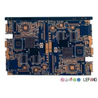 Wholesale 4 Layer Industrial PCB Control Board With Blue Ink 80 * 64 Mm Size from china suppliers