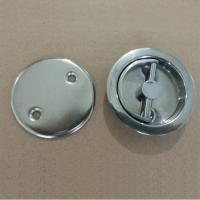Wholesale Cabinet cupboard furniture recessed handle stainless steel flush ring pull from china suppliers
