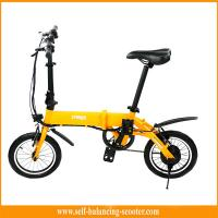 Mix - Color Freego Electric Boost Bicycle Portable Light Folding Bike With 14 Inch Wheels