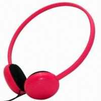 Wholesale Wired Headphones for MP3/iPod/iPhone, Comes in 8 Colors/Pantone Number, Customized Logos Accepted from china suppliers