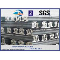 GB6KG GB9KG GB12KG Steel Crane Rail / Gantry Crane Track For Railway Construction