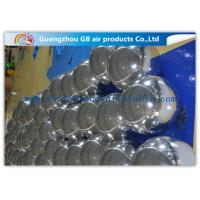 Wholesale Popular Silver Inflatable Holiday Decorations Mirror Balloon For Outside Xmas from china suppliers