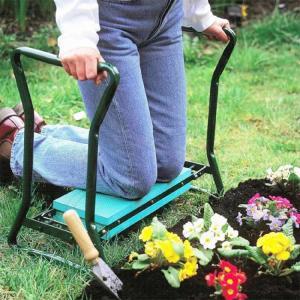 Wholesale Folding Garden Kneeler Seat , Portable Garden Kneeling Stool Convenient Function from china suppliers