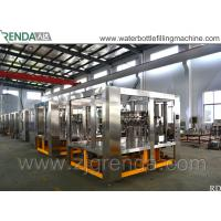 China 8000BPH Carbonated Drink Filling Machine / Soda Beverage Filling Machine for sale